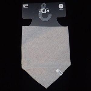 Ugg Grey Pet Bandana One Size - NWT